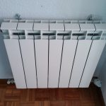 Cambio de radiadores. Renovación de una instalación de calefacción en Fuenlabrada.