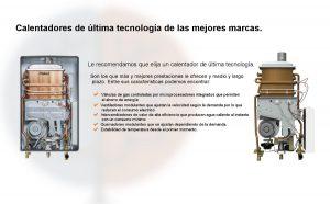 Ultimas novedades en equipos para la instalación de calentadores en Madrid.