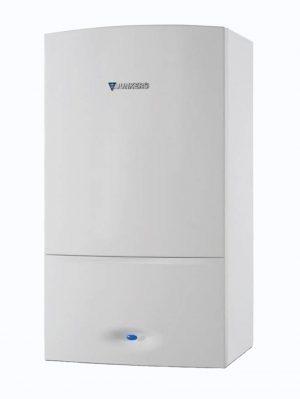 Caldera de gas de condensación Cerapur de Junkers. Las calderas Cerapur de 22, 24 y 28 Kw son silenciosas, compactas y proporcionan confort a todo tipo de hogares.