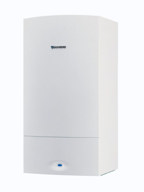 Caldera de gas de condensación Junkers. La caldera de la serie Cerapur Comfort 25 y 30 Kw es fiable y eficiente.