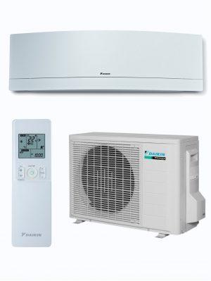 Conjunto split 1x1 blanco de aire acondicionado Daikin TXG25LW-LS, TXG35LW-LS y TXG50LW-LS.