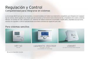 Sistemas de control opcionales para las calderas Vaillant Ecotec Pure VMW 236/7-2 ES.