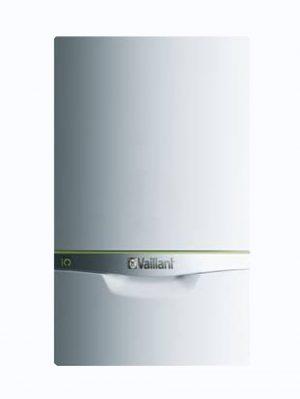 Vista frontal de la caldera de condensación Vaillant Ecotec Exclusive VMW 436/5-7 ES.