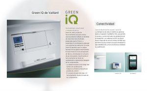 Sistema Green iQ de las calderas de condensación Ecotec Exclusive VMW 436/5-7 ES. de Vaillant.