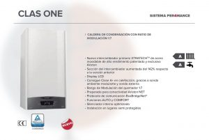 Beneficios de las calderas de condensación Ariston Clas One.