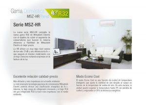 MSZ HR. Beneficios de los equipos.